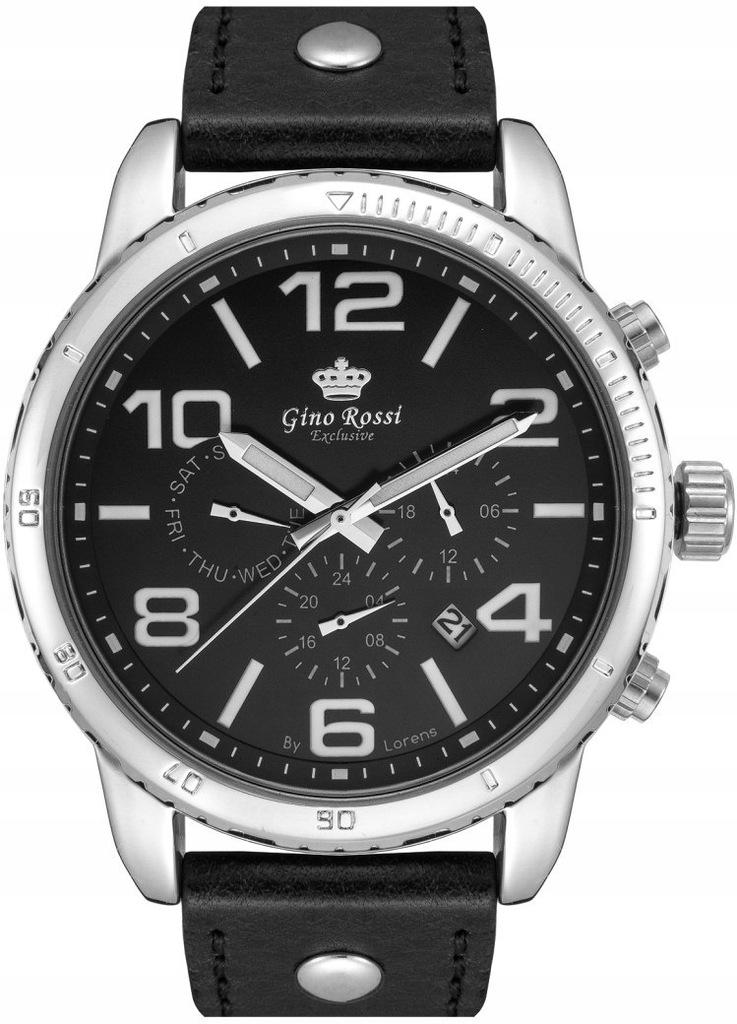 Zegarek Męski Gino Rossi E9566A-1A1