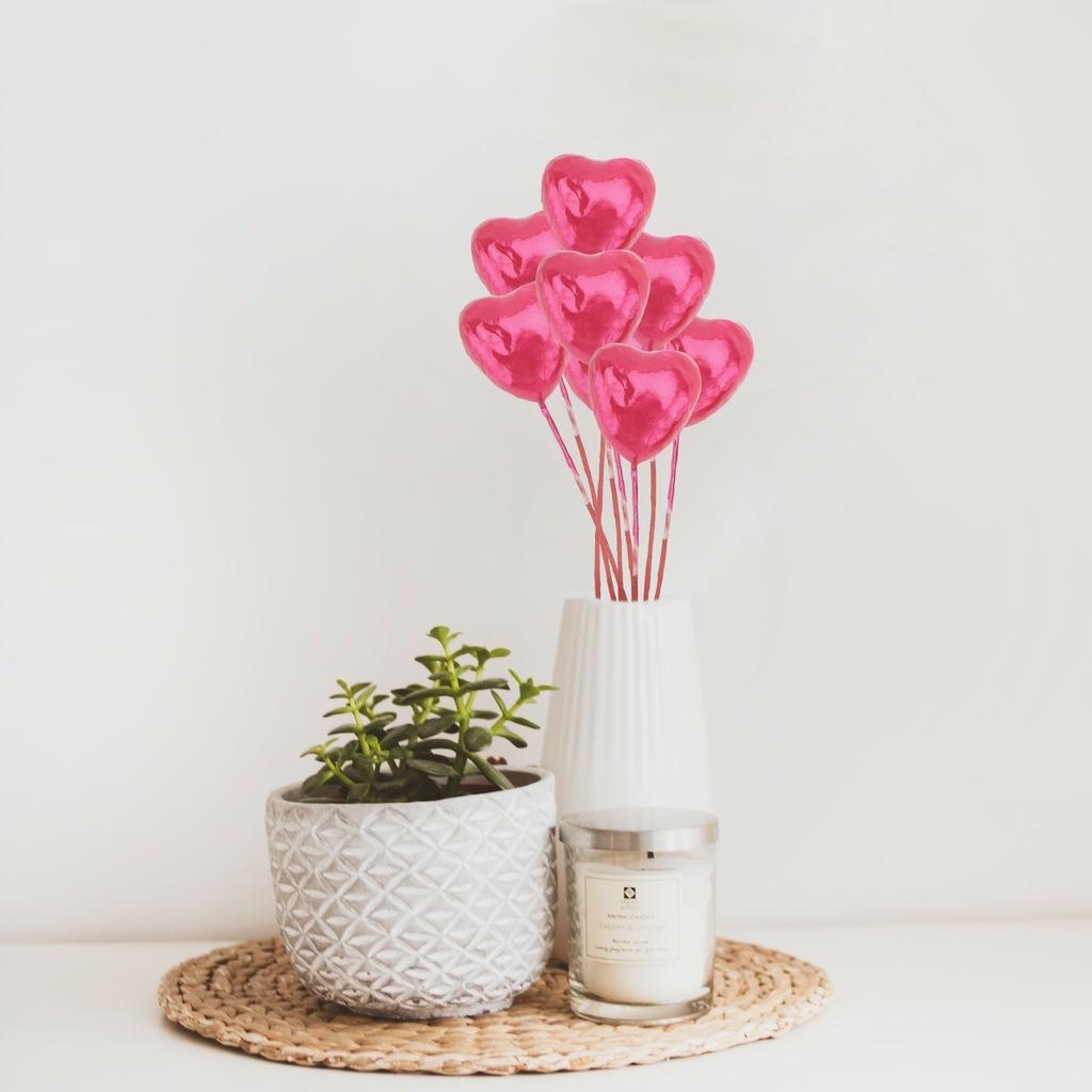 22 szt.Ślubne sztuczne róże roswizyty do strzelani