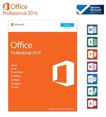 Microsoft Office 2016 Professional Pakiet Klucz