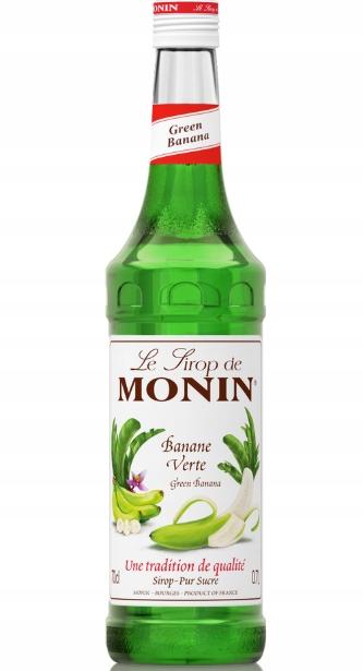 SYROP MONIN GREEN BANANA, ZIELONY BANAN 0,7L