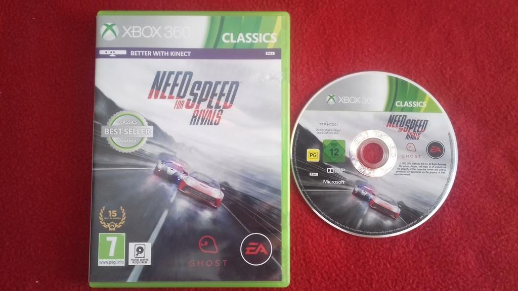 Need For Speed Rivals Xbox 360 Polskie Napisy Pl 9671490264 Oficjalne Archiwum Allegro