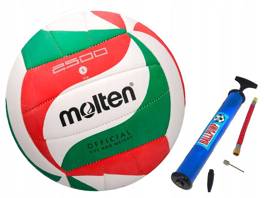 Piłka siatkowa MOLTEN V5M2500 + pompka