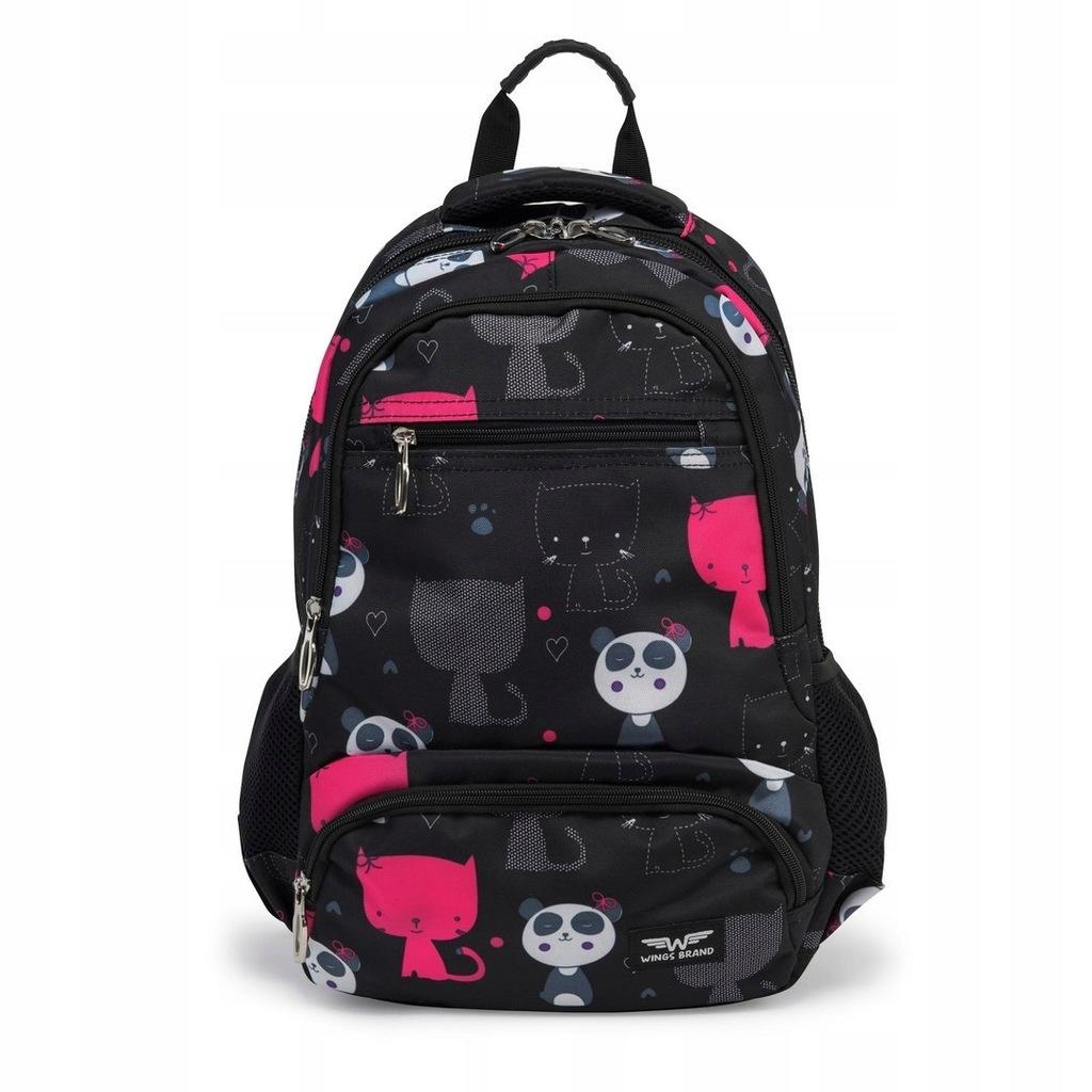 BP20-01 PLECAK BLACK PANDA