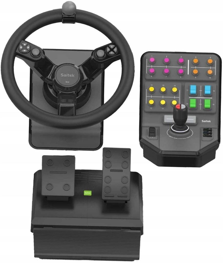 Kierownica Logitech G Saitek Farming Simulator 15 9201013738 Oficjalne Archiwum Allegro
