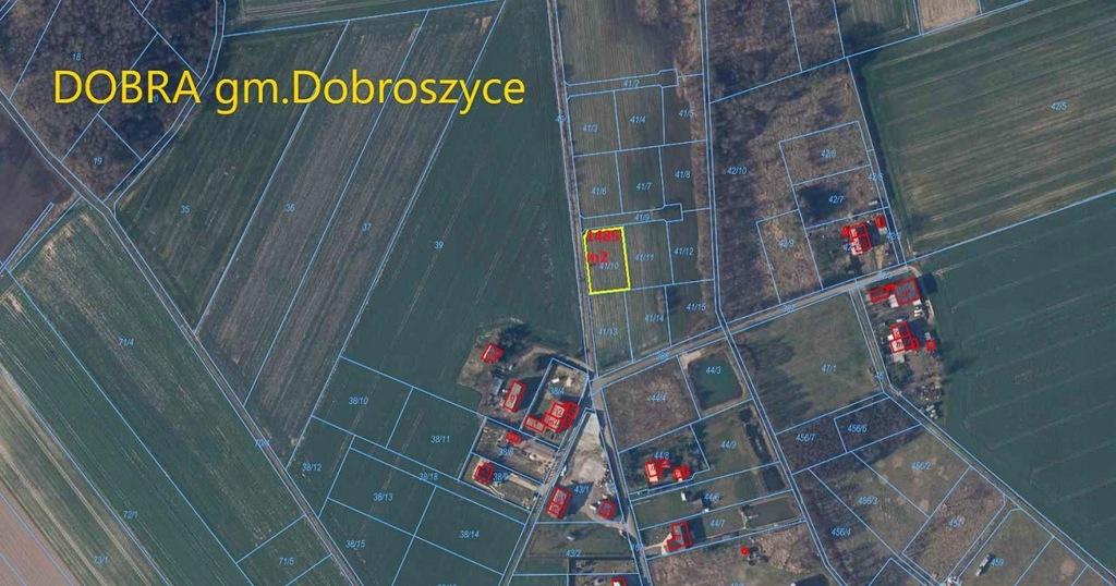 Działka, Dobra, Dobroszyce (gm.), 1485 m²