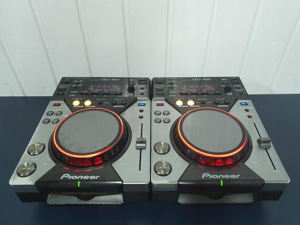 2x Pioneer CDJ 400 najtaniej w sieci EU wersja djm