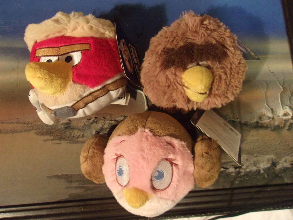 Angry Birds Star Wars Nowe 3 Pluszaki 9361810777 Oficjalne Archiwum Allegro
