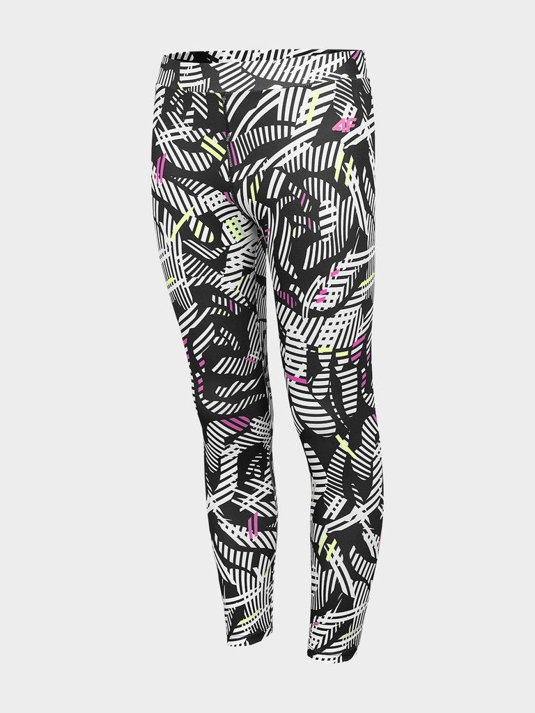 LEGGINSY DZIEWCZĘCE 4F spodnie elastyczne JLEG206
