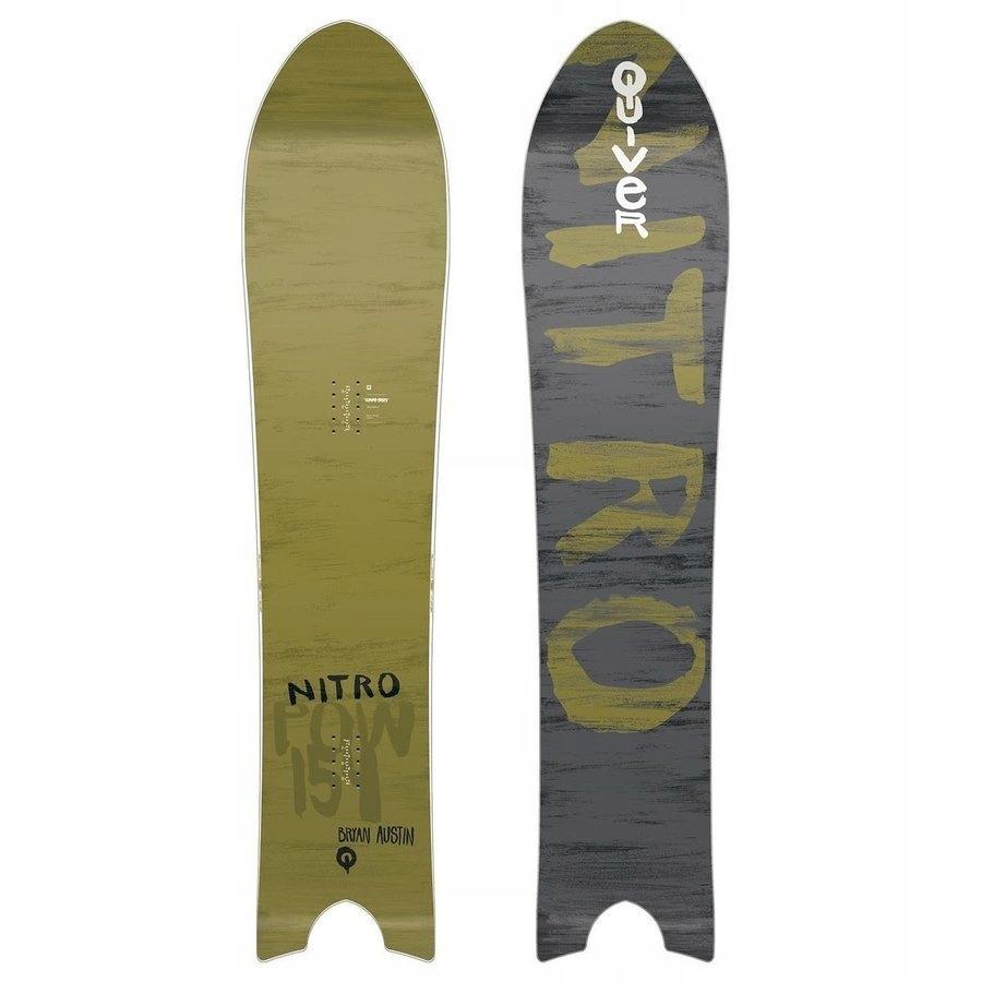 Deska snowboardowa NITRO Pow z 1800PLN 154
