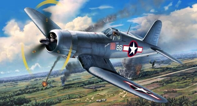 Model Revell Vought F4U-1A Corsair