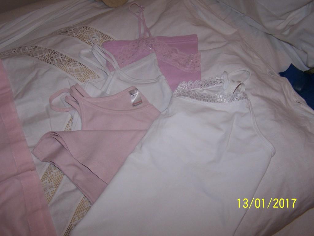 4 bawełniane koszulki