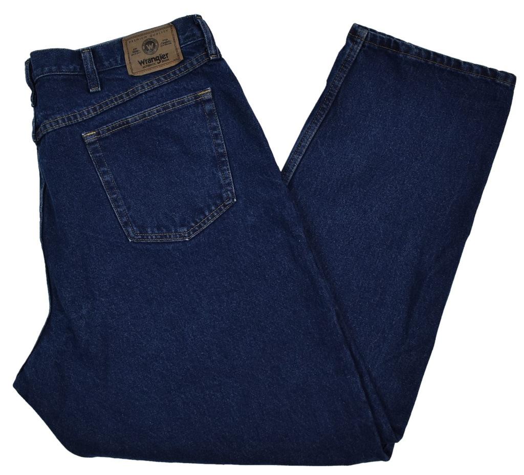 Duże Spodnie Wrangler z USA R42/30 Pas106cm SD798