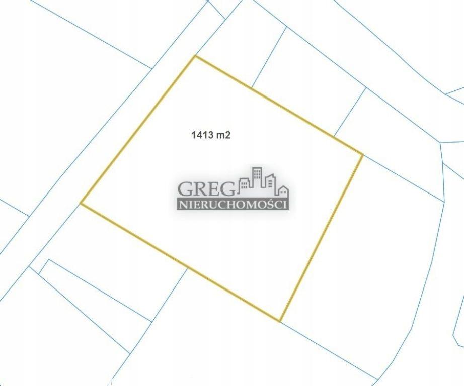 Działka, Gorzyczki, Gorzyce (gm.), 1413 m²