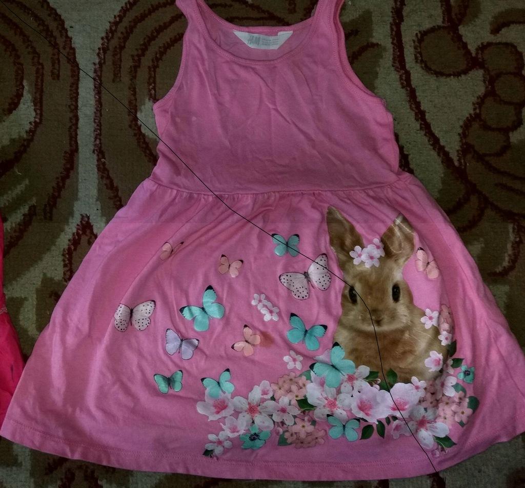 5 sukienek i 2 spódniczki :) 98-104
