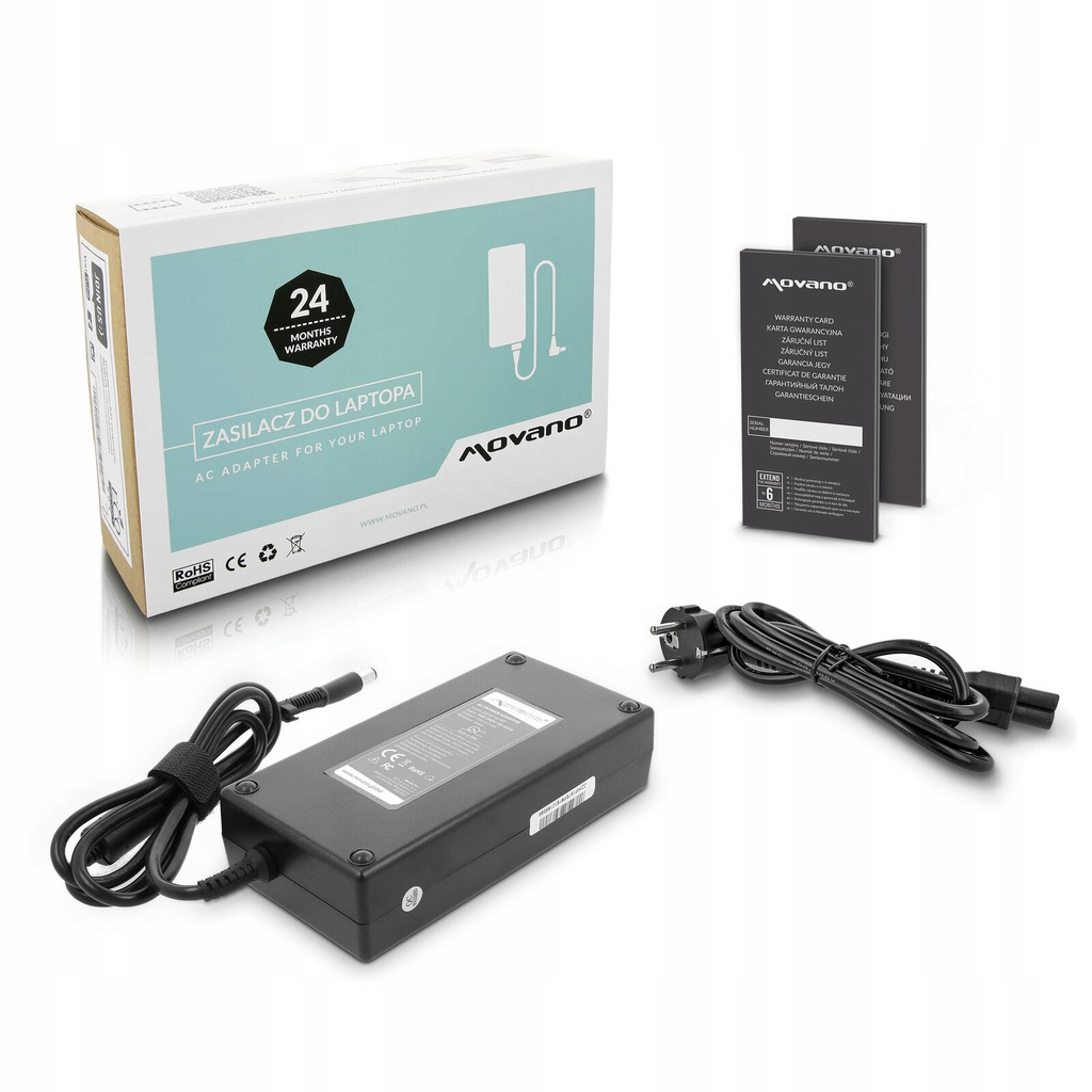 * Ładowarka do HP Docking Station 609943-001 HQ FV