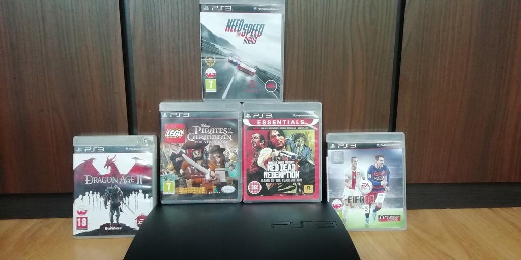 !!PS3!Slim!320GB!HDMI!Pad !RDR!LEGO!NFS!!