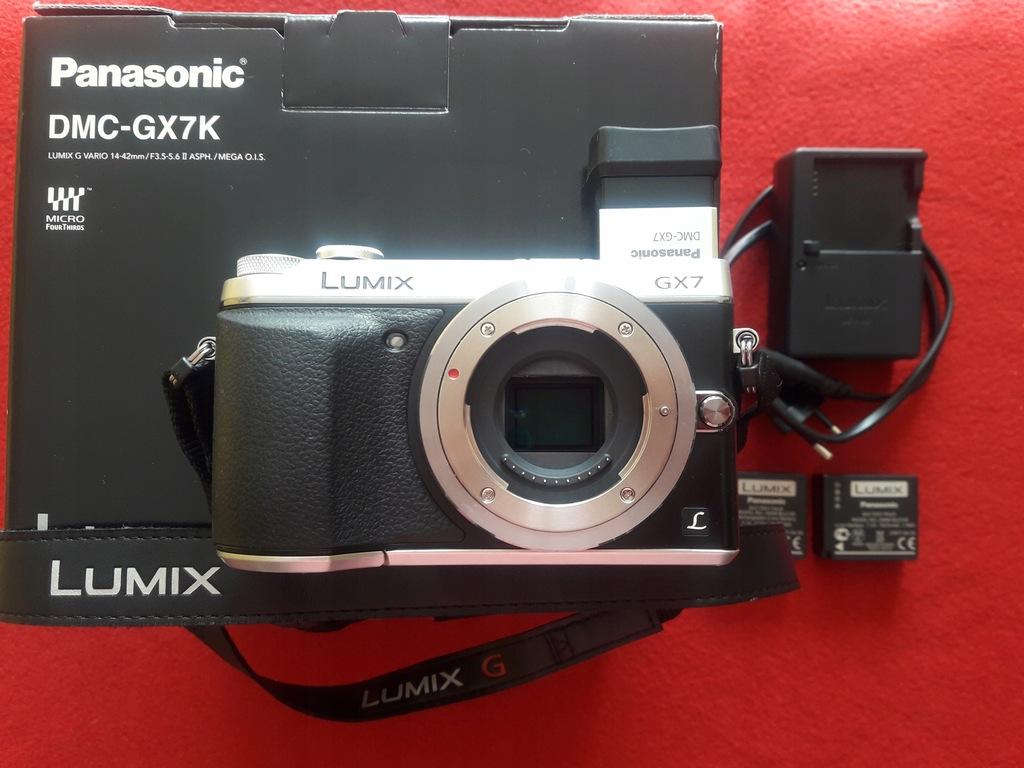 Panasonic GX7 + 14-42mm + GRATISY