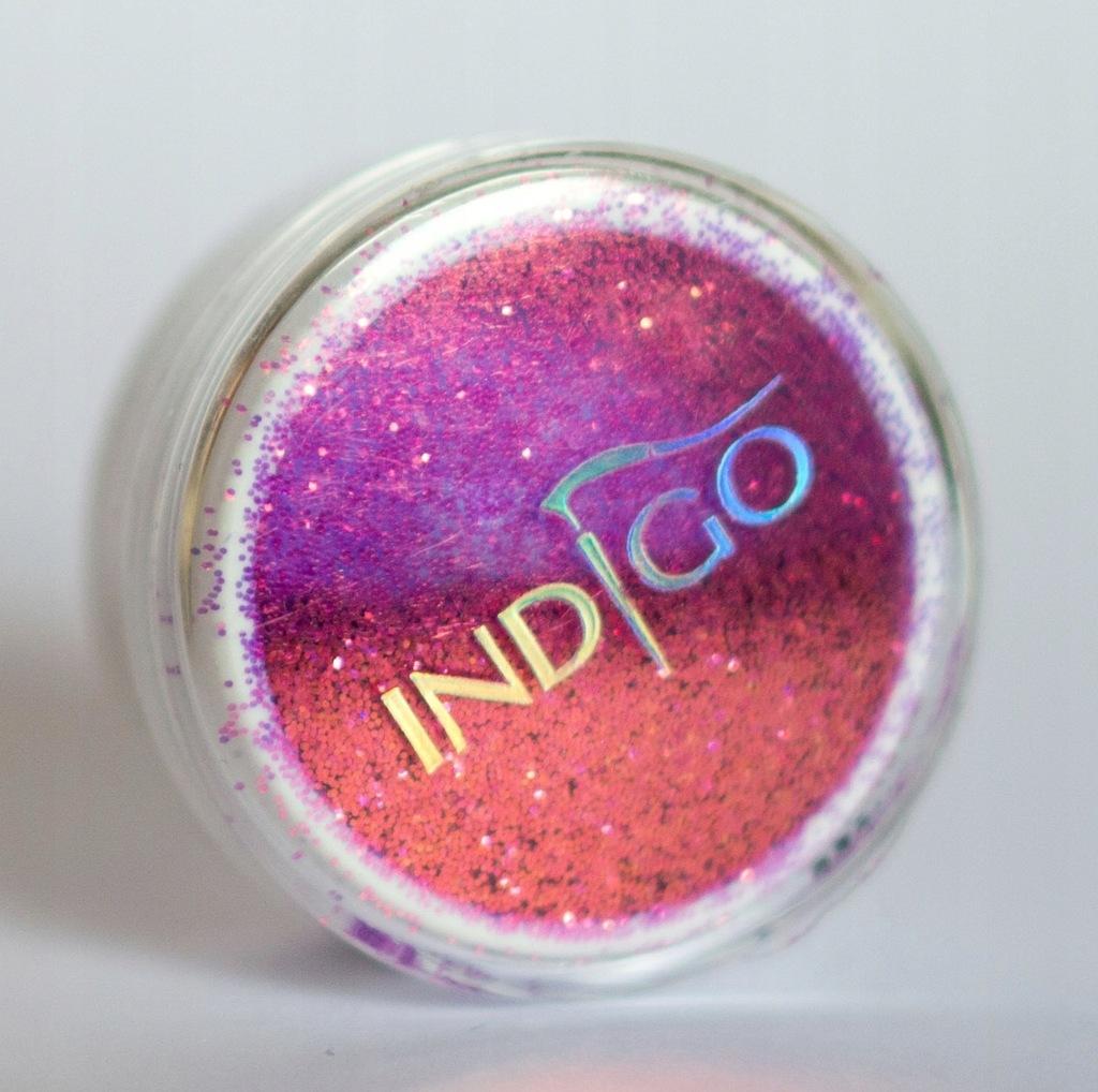 Pixel Effect Neon Lila indigo