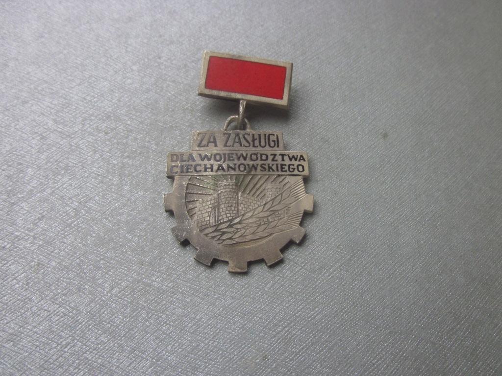 Odznaka Za Zasługi Dla Woj. Ciechanowskiego 2