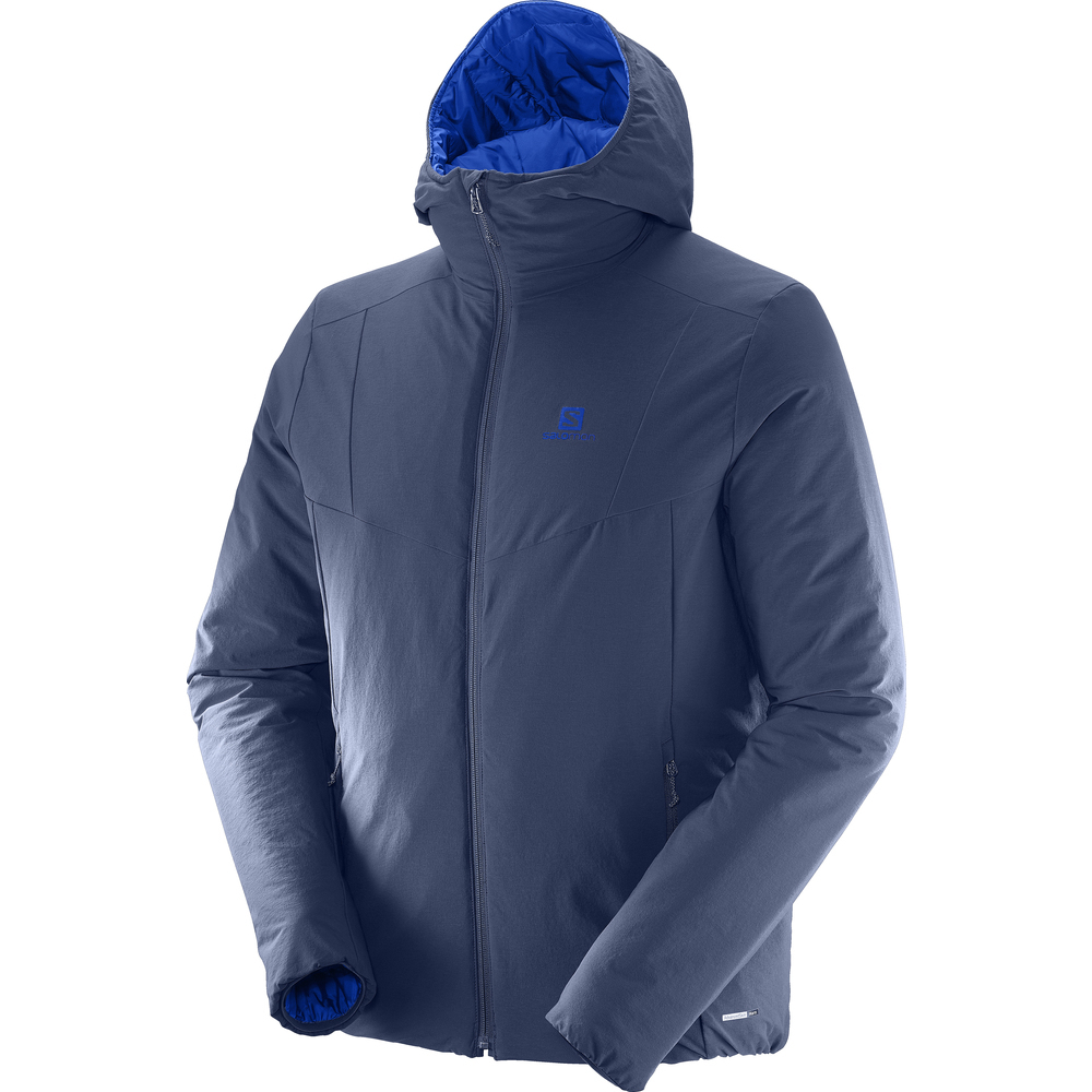 Kurtka Salomon Drifter Hoodie Dress Blue r. XL