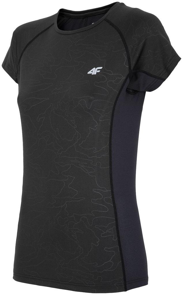 Damska Koszulka T-Shirt 4F Z17 TSDF002 czarna # S