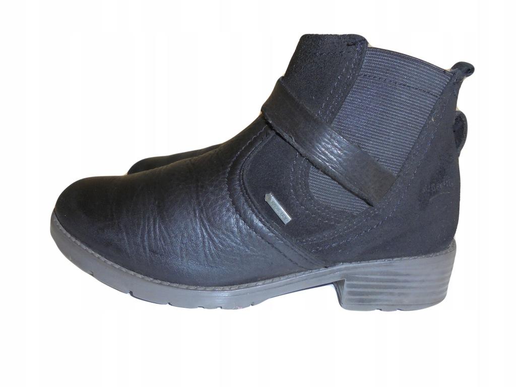 Skórzane buciki SuperFit z Gore-tex. Rozmiar 32.