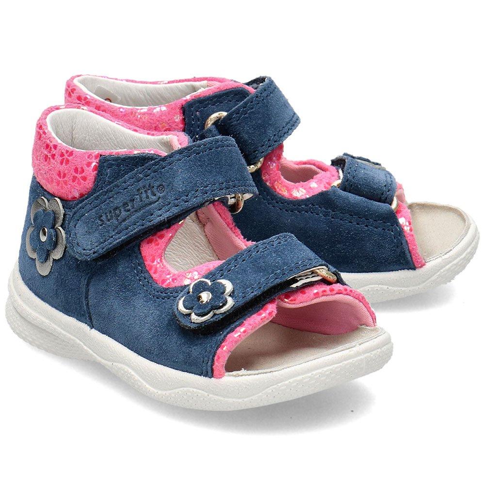 Superfit Granatowe Sandały Dziecięce R.22