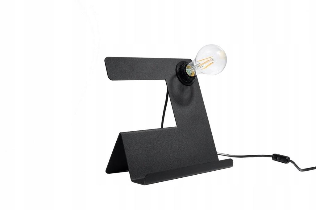 Lampa dom biurkowa INCLINE czarna
