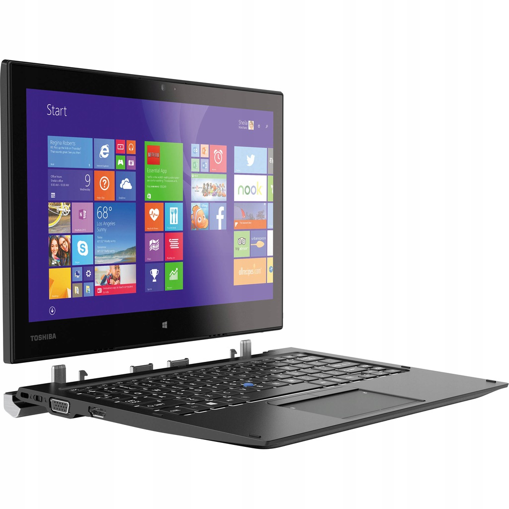 Toshiba PORTAGE Z20T-C 8GB Intel Core m5-6Y57 R614