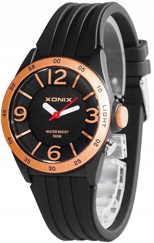 Większy Dziecięcy Zegarek Analogowy XONIX WR100m