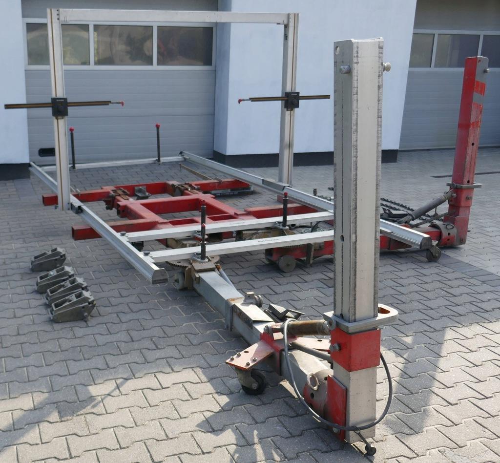 Rama Auto Robot z system pomiarowym