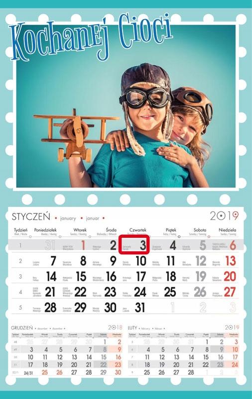 Kalendarz Ze Zdjeciem Jednodzielny Wyrywany 7569248025 Oficjalne Archiwum Allegro