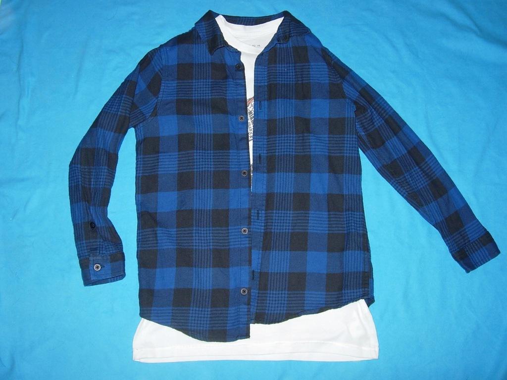 Koszula F&F + koszulka 140