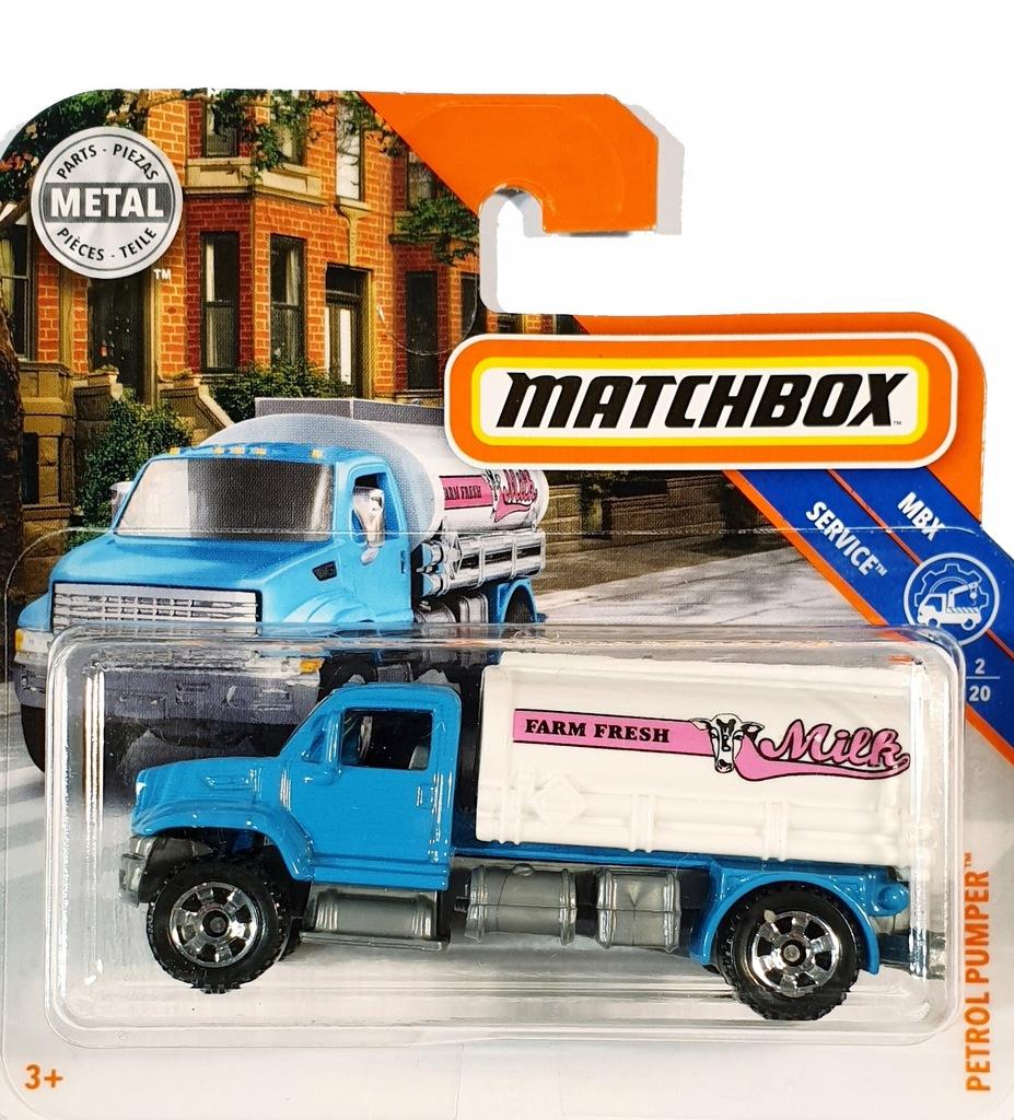 MATCHBOX AUTO PETROL PUMPER