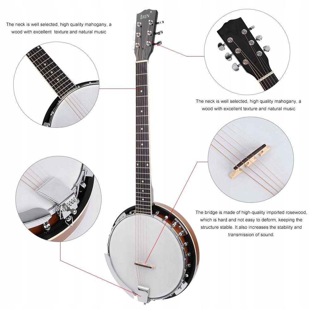 Banjo 50cm*15cm Zestaw Banjo