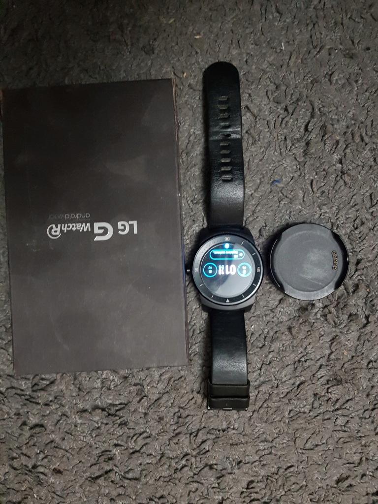 smartwatch LG G Watch R bdb stan