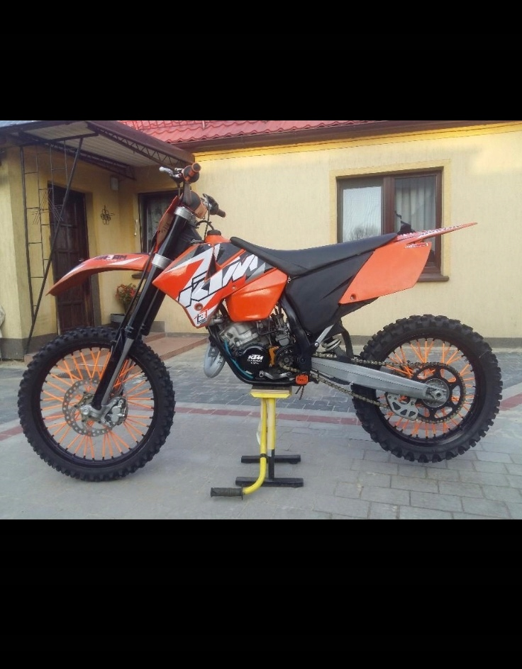 Motocykl Ktm 125 8122123578 Oficjalne Archiwum Allegro