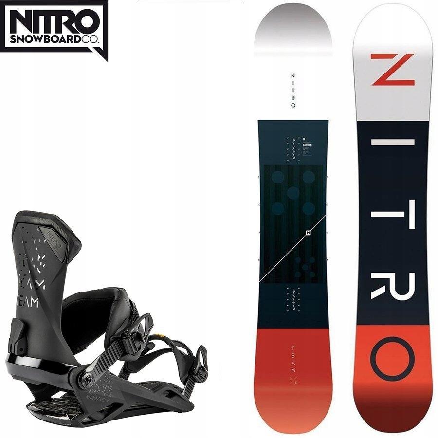 Snowboard NITRO Team GULLWING + wiązania z 3450PLN