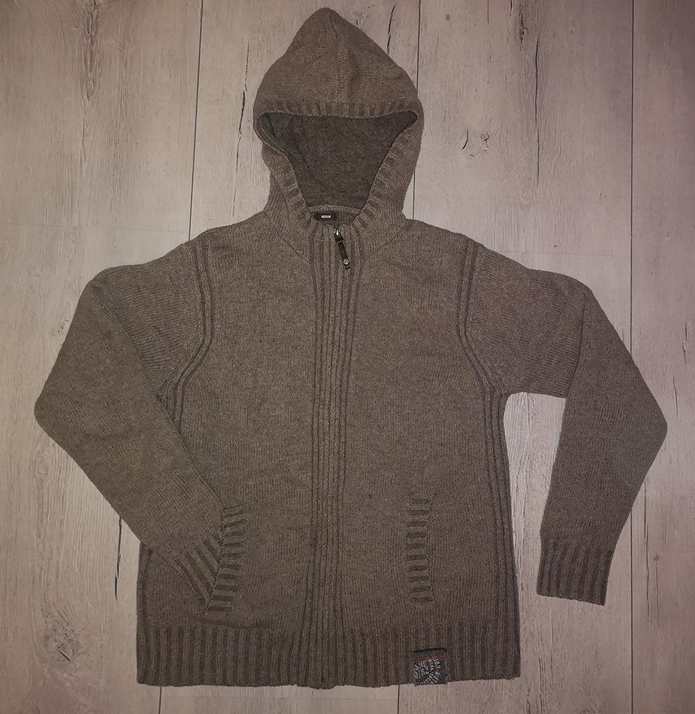 Oryginalny sweter z kapturem NEXT r.M opis