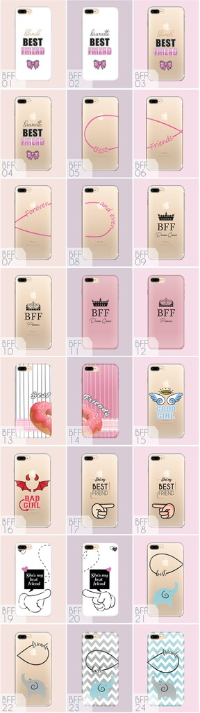 Nadruk Best Friends Iphone 5 6 7 X 7422695879 Oficjalne Archiwum Allegro