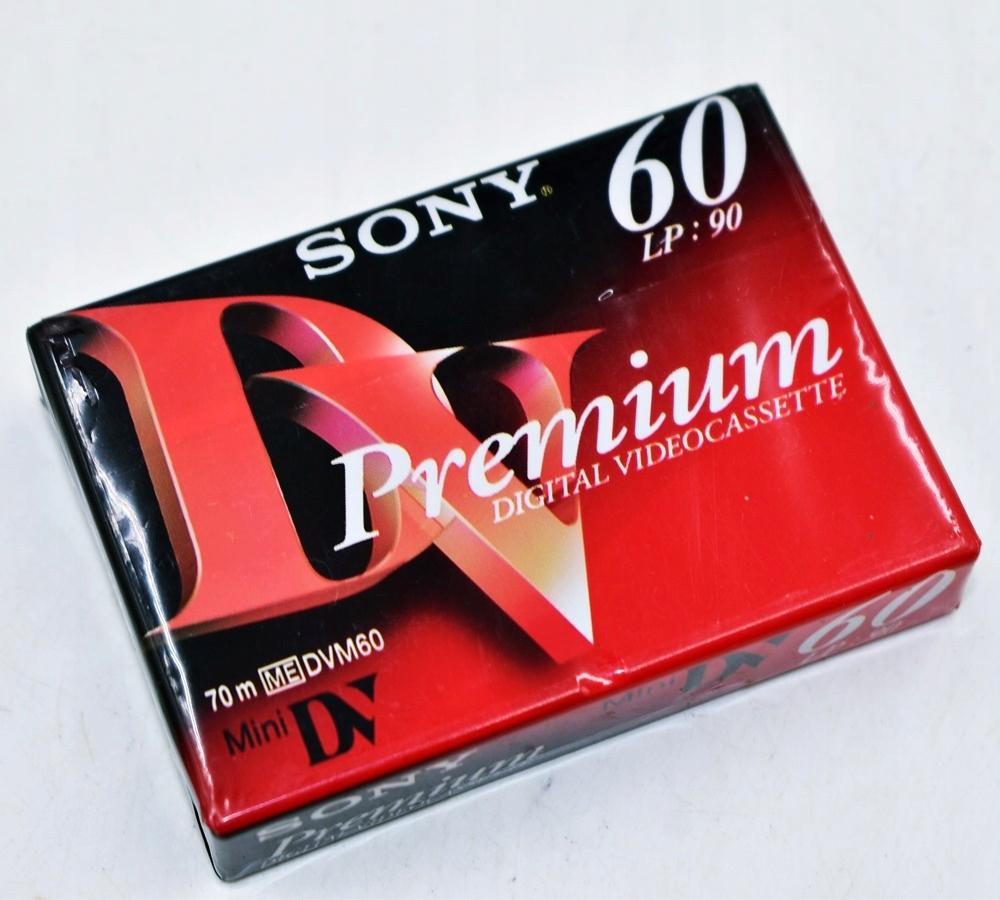 5815-2 SONY PREMIUM p#s NOSNIKI KASETY 60 MINI DV