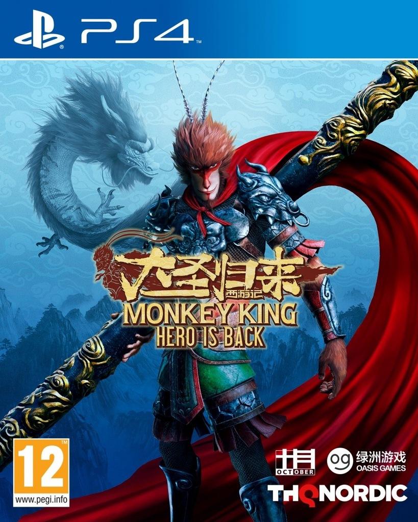 KOCH Gra PS4 Monkey King: Hero is Back