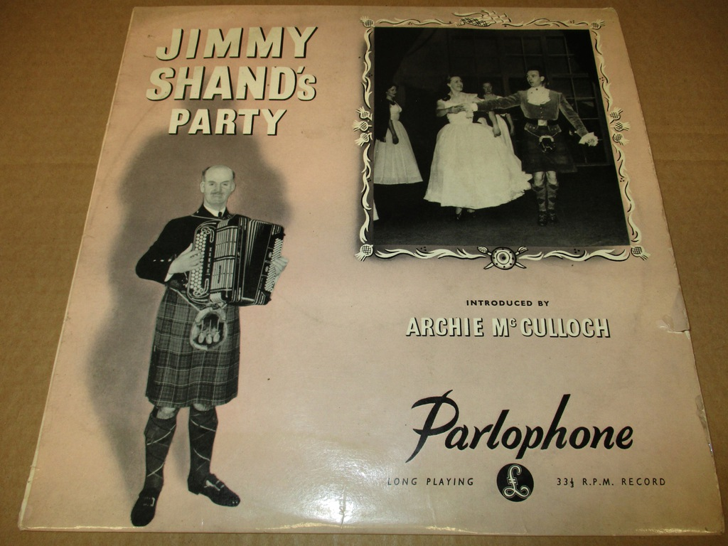 JIMMY SHAND'S PARTY LP 10' 1950 UK