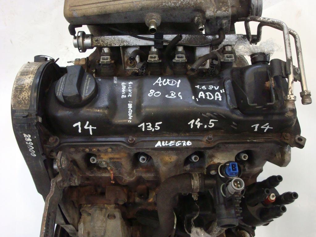 Silnik Audi 80 B4 1 6 E Benzyna 101km 74kw Ada 7881563269 Oficjalne Archiwum Allegro