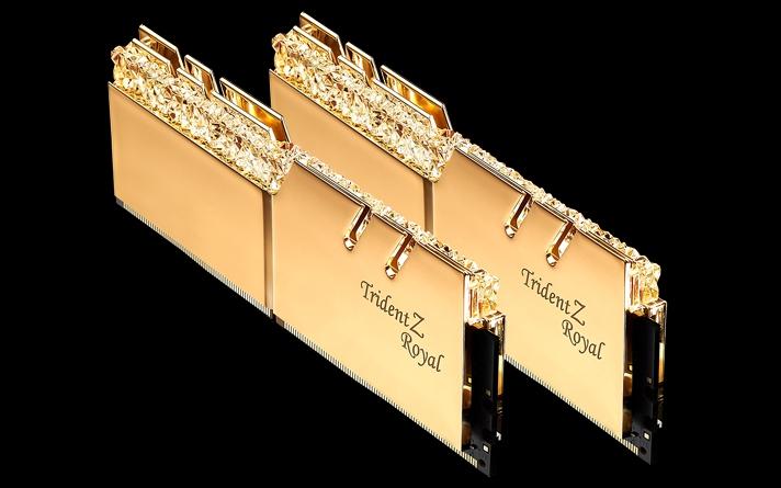 TRIDENT Z ROYAL PAMIĘĆ DDR4 16GB 2X8GB 3200MHZ CL1