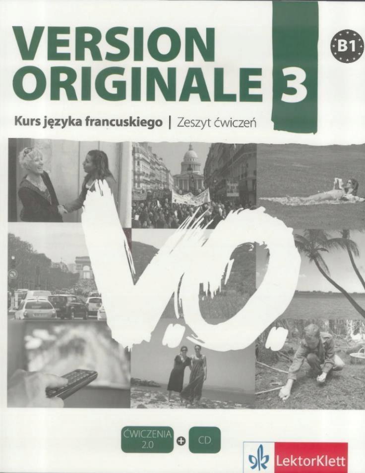 VERSION ORIGINALE 3 ĆWICZENIA + CD LEKTORKLETT
