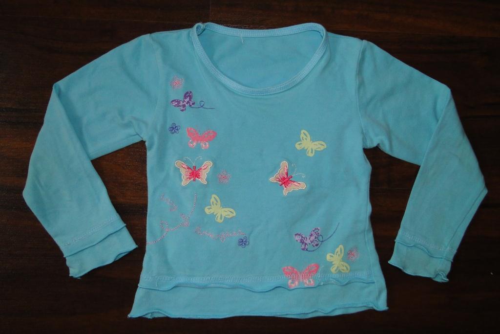 Bluzka z motylkami