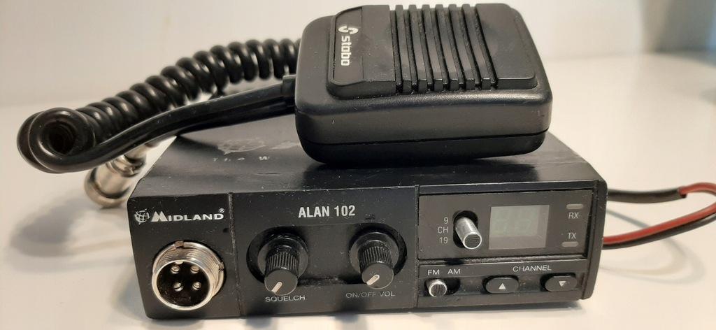 CB radio Alan 102 Midland