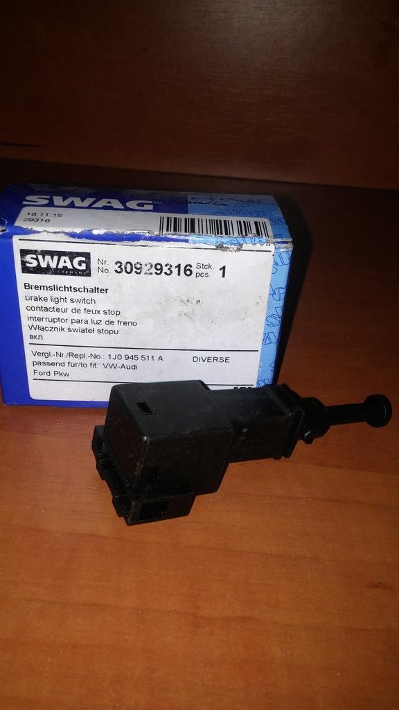 Swag contacteur de frein Audi vw ford seat skoda 30929316