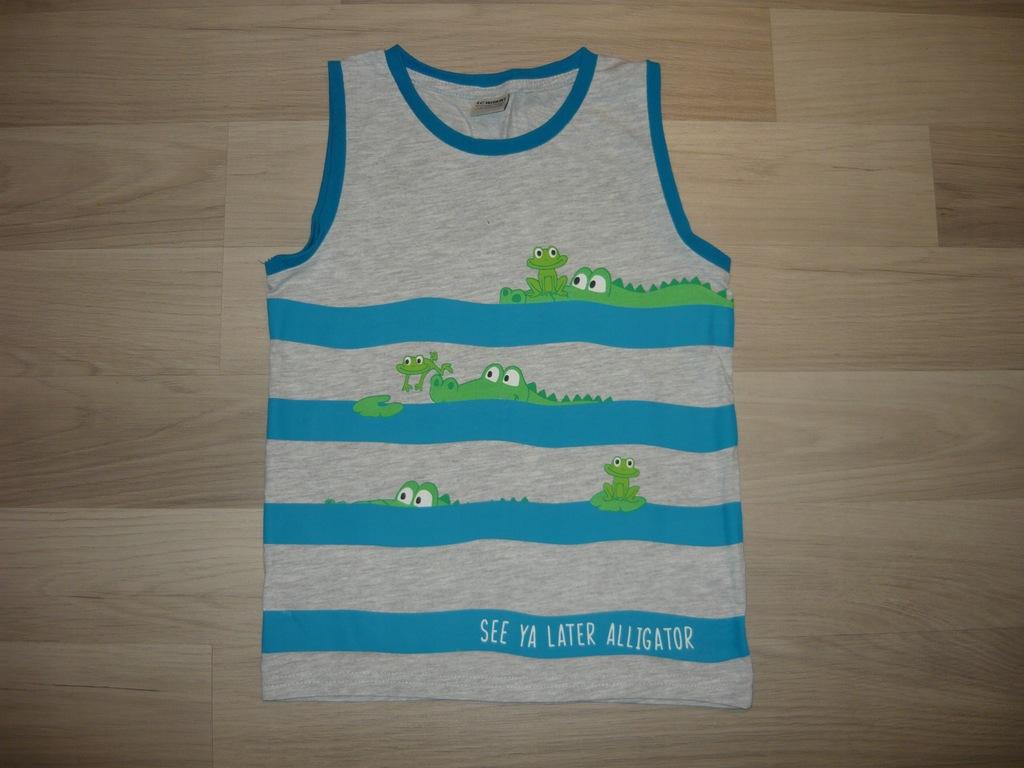 ** LC WAIKIKi ** bluzeczka - zielone zwierzaki